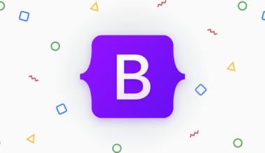 Bootstrap 5 New Logo - getbootstrap.com
